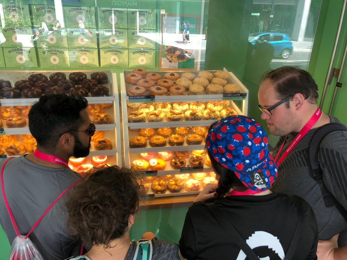 Tough Choices @ Doughnut Time