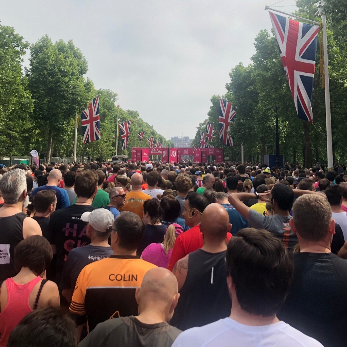 Vitality London 10,000 Start Line